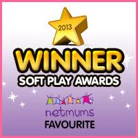 soft play winner badge